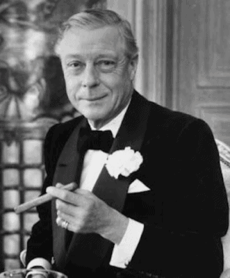 Edward VIII im Smoking
